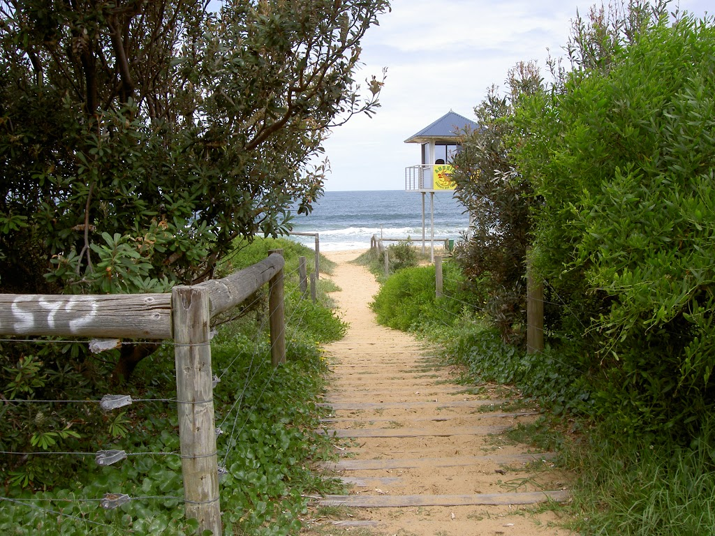 Putty Beach access from carpark