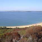 Putty Beach across Broken Bay to Barrenjoey Headland (21686)