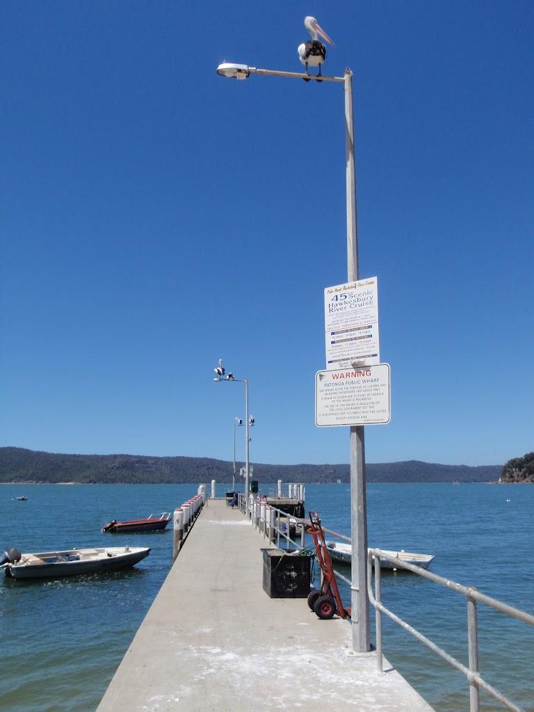 Patonga Ferry Wharf