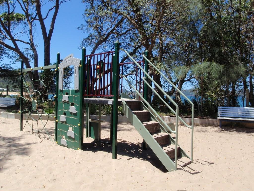 Play equipment at Pearl Beach