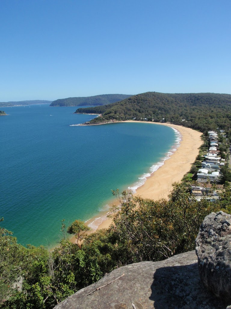Looking over Pearl Beach