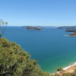 Out to Lion Island, the ocean and the Pittwater