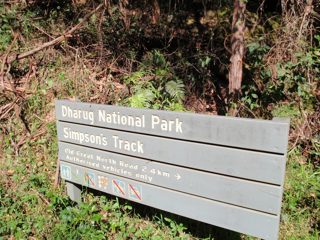 National Park Boundary on Simpson Track (221756)