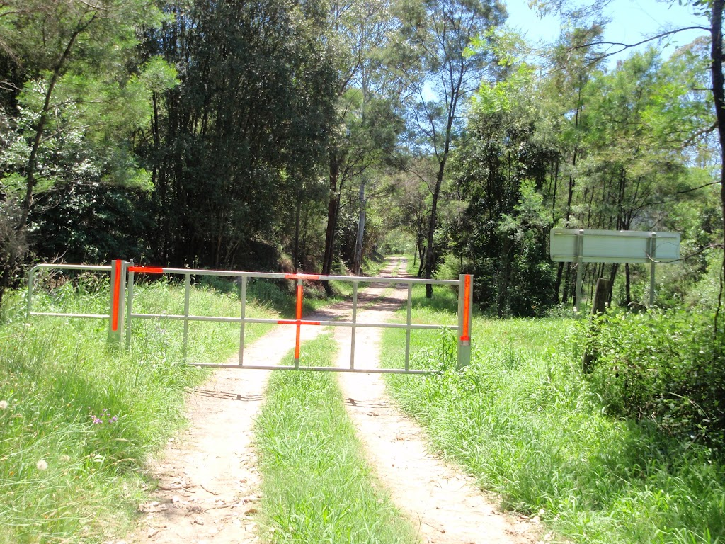 Gate on the Old Ten Mile Hollow Rd