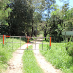 Gate on the Old Ten Mile Hollow Rd (223514)