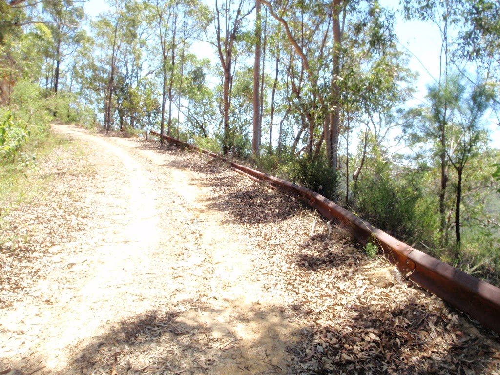 rusting railing beside Donny's Track (224036)