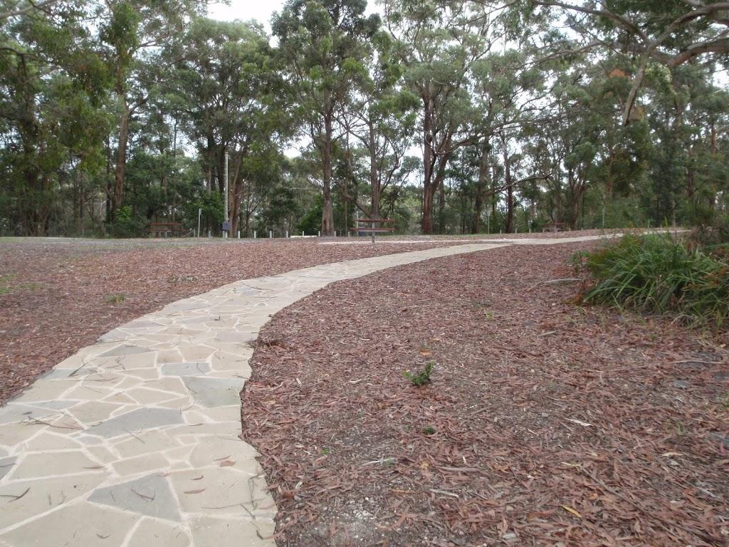 Path through picnic area
