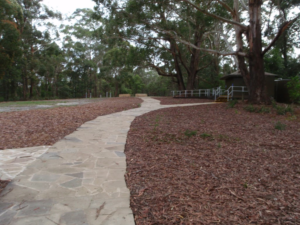 Path leading to toilet (225373)