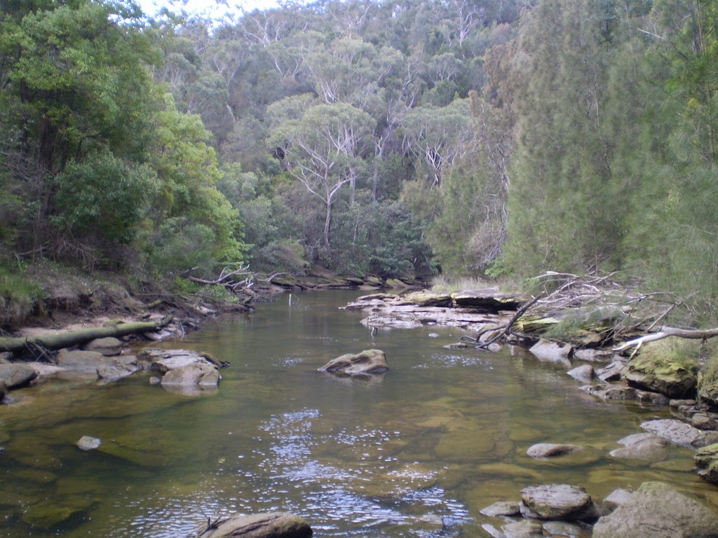 Middle Harbour Creek crossing