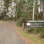 Katandra Reserve entrance at Katandra Rd