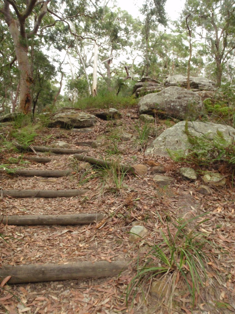 Steps on Graves Walk