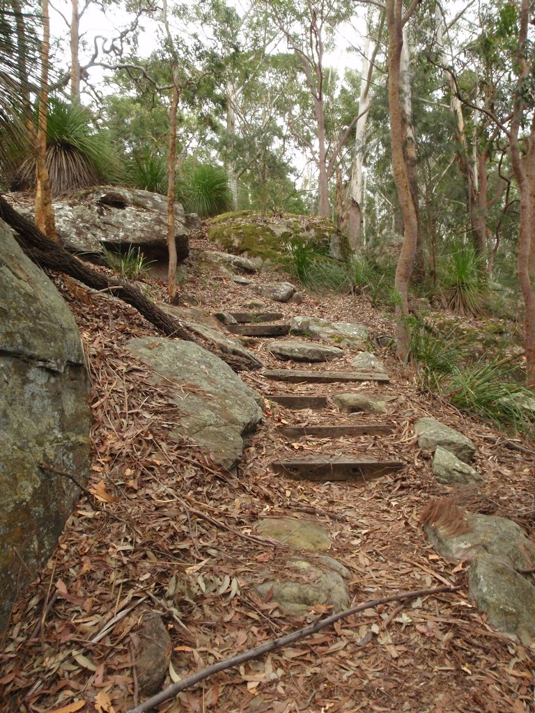 Steps on Graves Walk