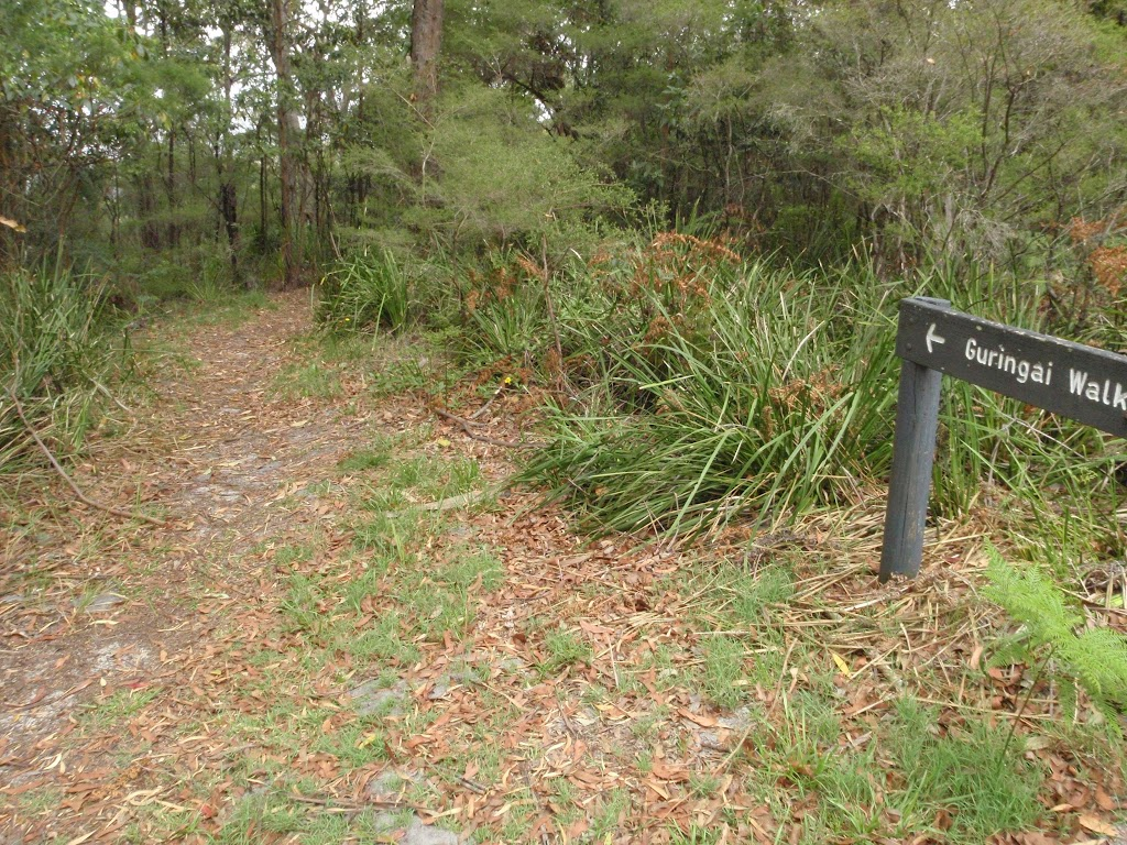 sign at the Southern end of Guringai walk