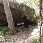 Smaller cave west of the main cave (233430)