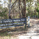 Sid Pulsford Walking trail sign (234026)
