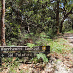 Int of Sid Pulsford Walking and Warriwarri Lookout trails