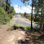 Looking back to the start of Bembooka Rd