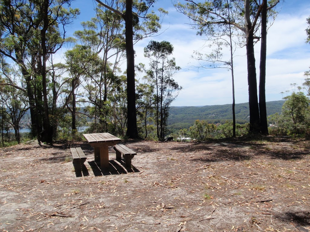 Table and View from By-pass on Sid Pulsford Walking trail