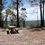 Table and View from By-pass on Sid Pulsford Walking trail (236741)