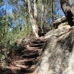 Interesting rock boulders beside track (237638)