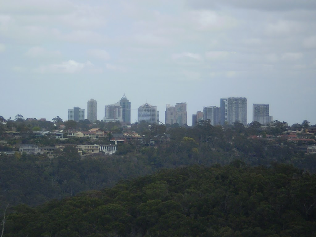 Views from top of Timbergetters to Chatswood