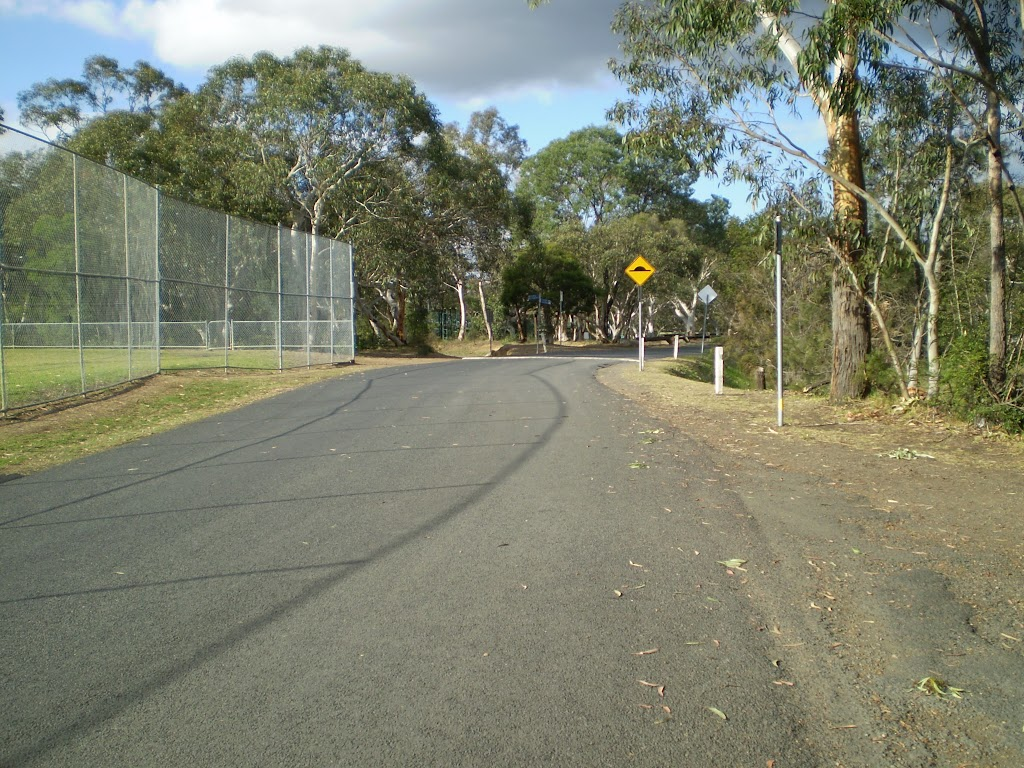 Road through Pennant Hills Park