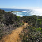 Top of Timber Beach track