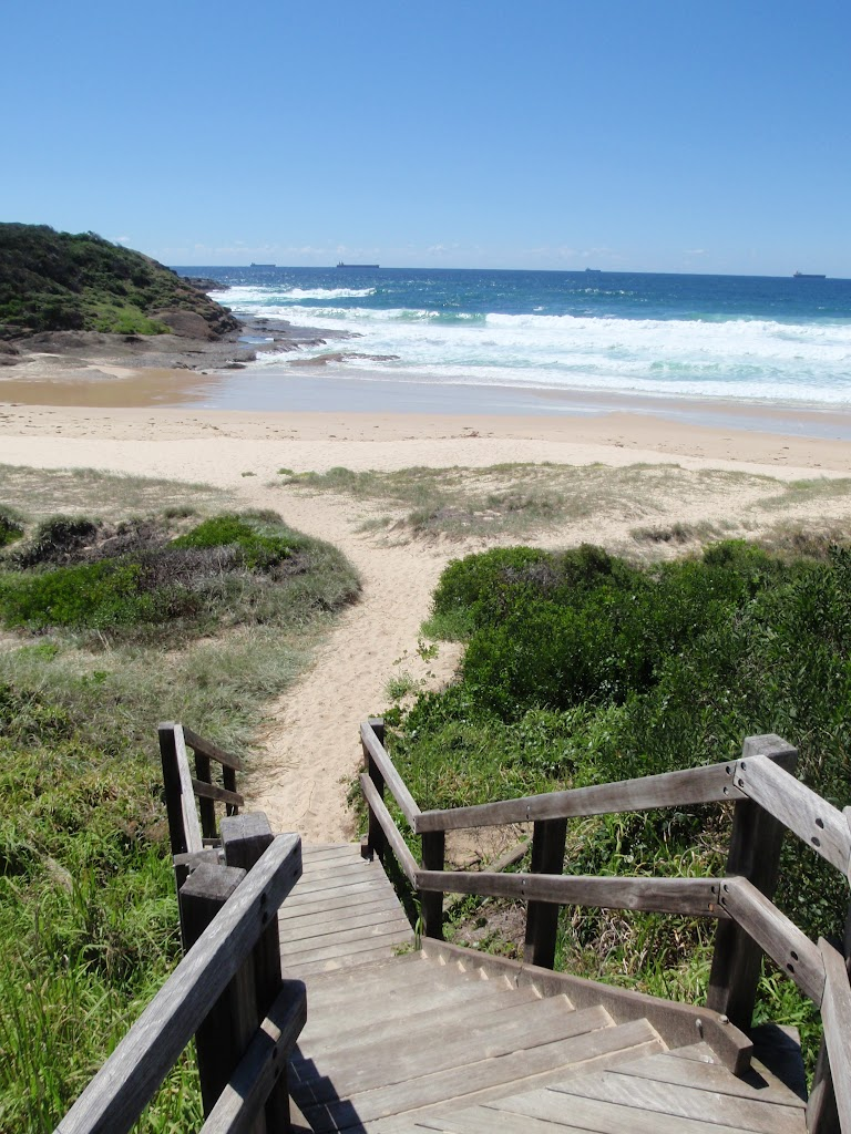 Track from Frazer camp area to norther end of Frazer Beach