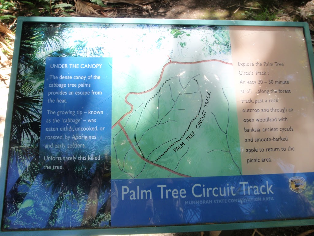 Information sign in picnic area