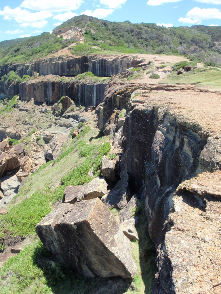 Cliffs on south side of Wybung Head