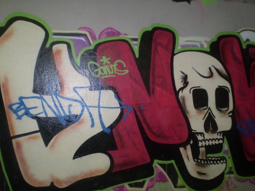 Graffiti under Epping Rd
