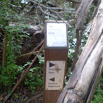 Signposts on Terrys Creek track (24982)