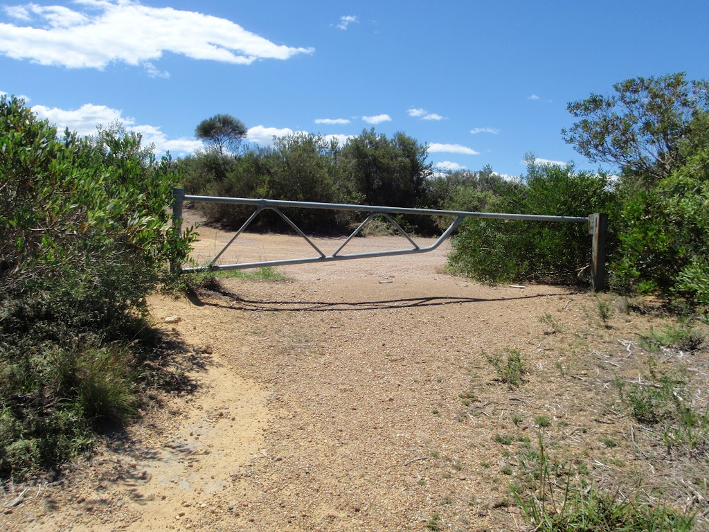 gate at nt of Geebung Track and Wybung Head Dr