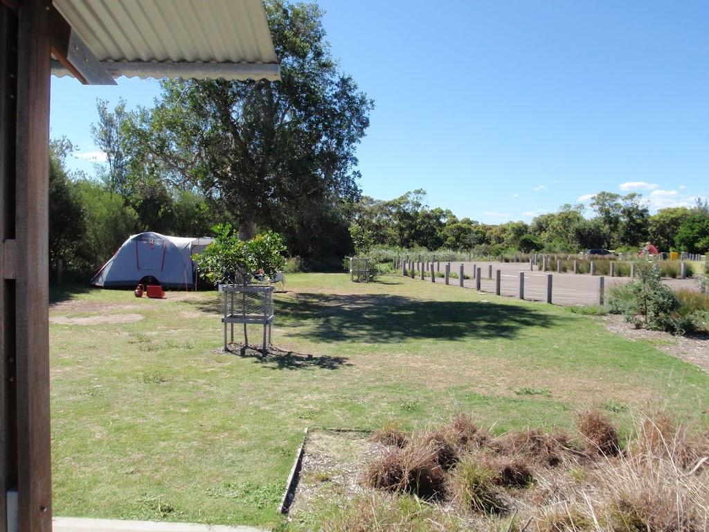 Flat grassy area