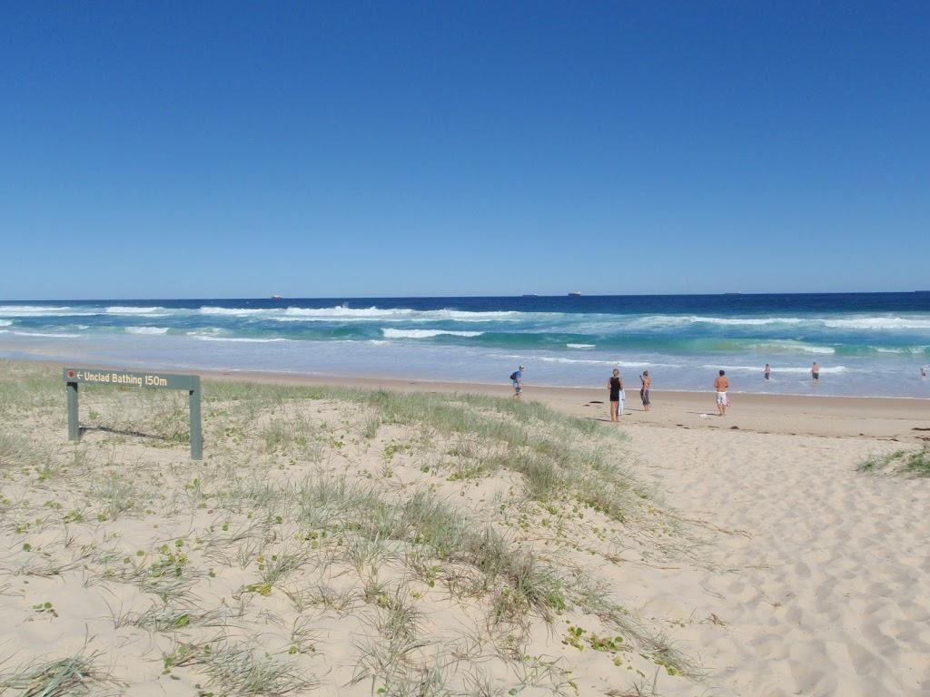 Looking across dune on Birdie Beach