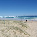 Looking across dune on Birdie Beach (251059)
