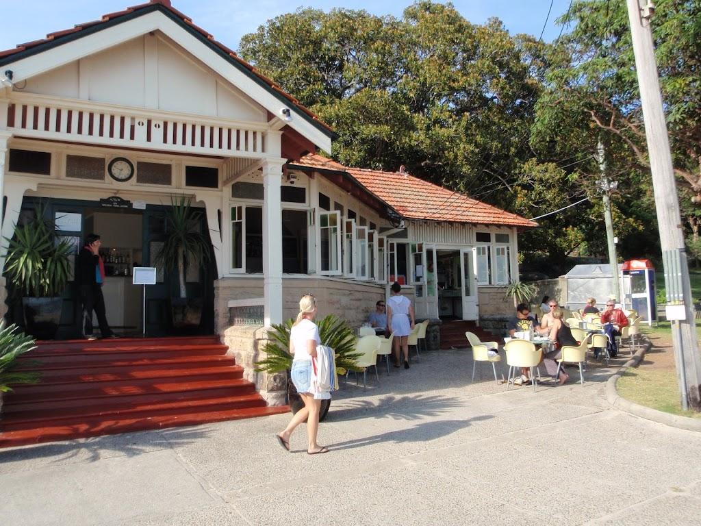 Cafe at Nielsen Park