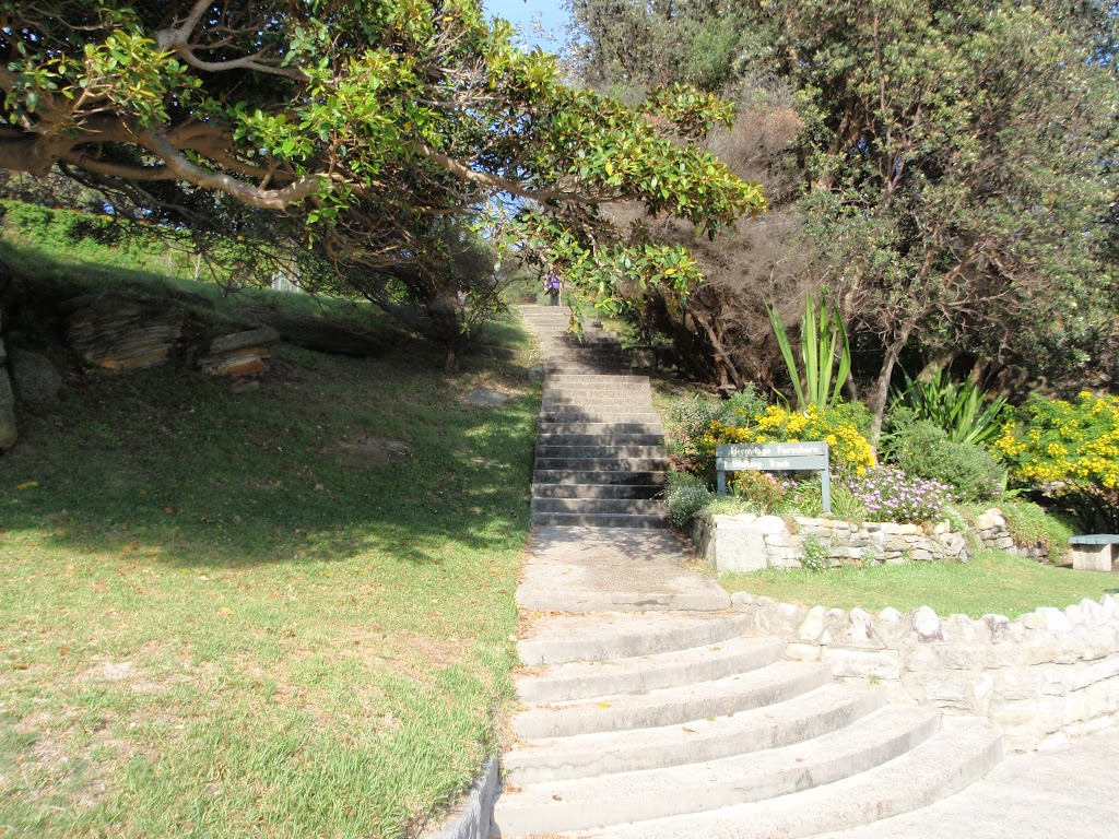 Steps at the western end of Shark Bay