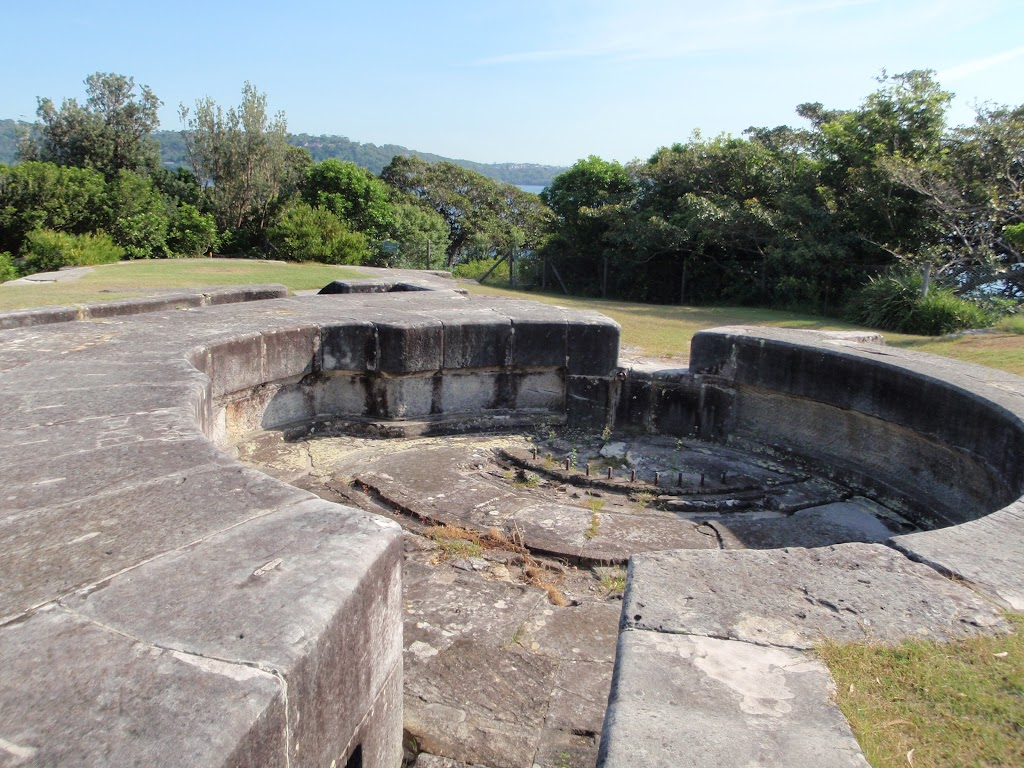 Steele Point Gun Emplacement