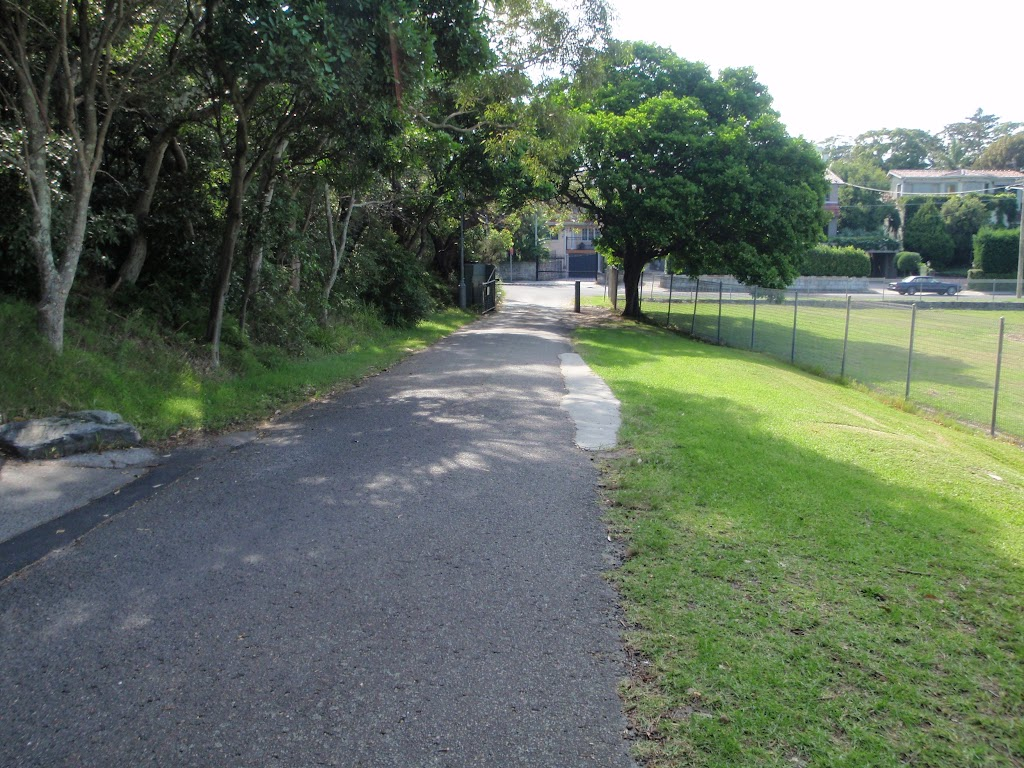 Driveway leading to Vaucluse Rd