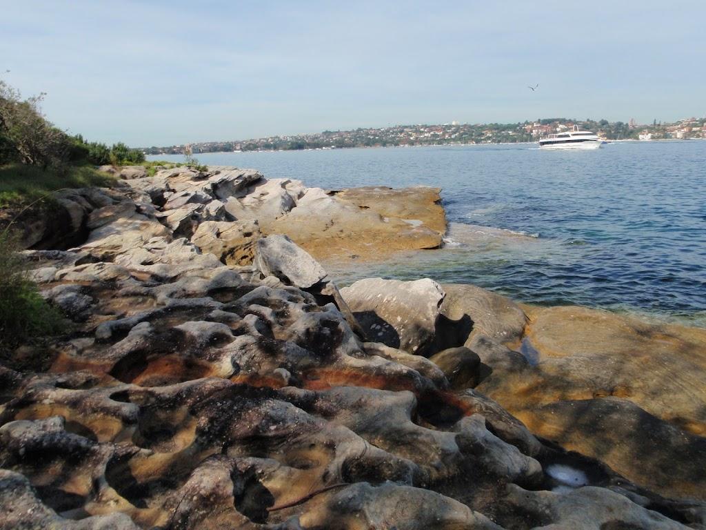 Rocky harbour shoreline