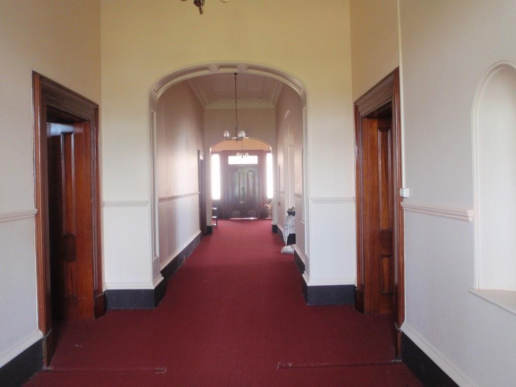 Inside Strickland House