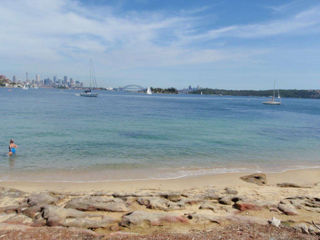 Great water and harbour views from Queens Beach