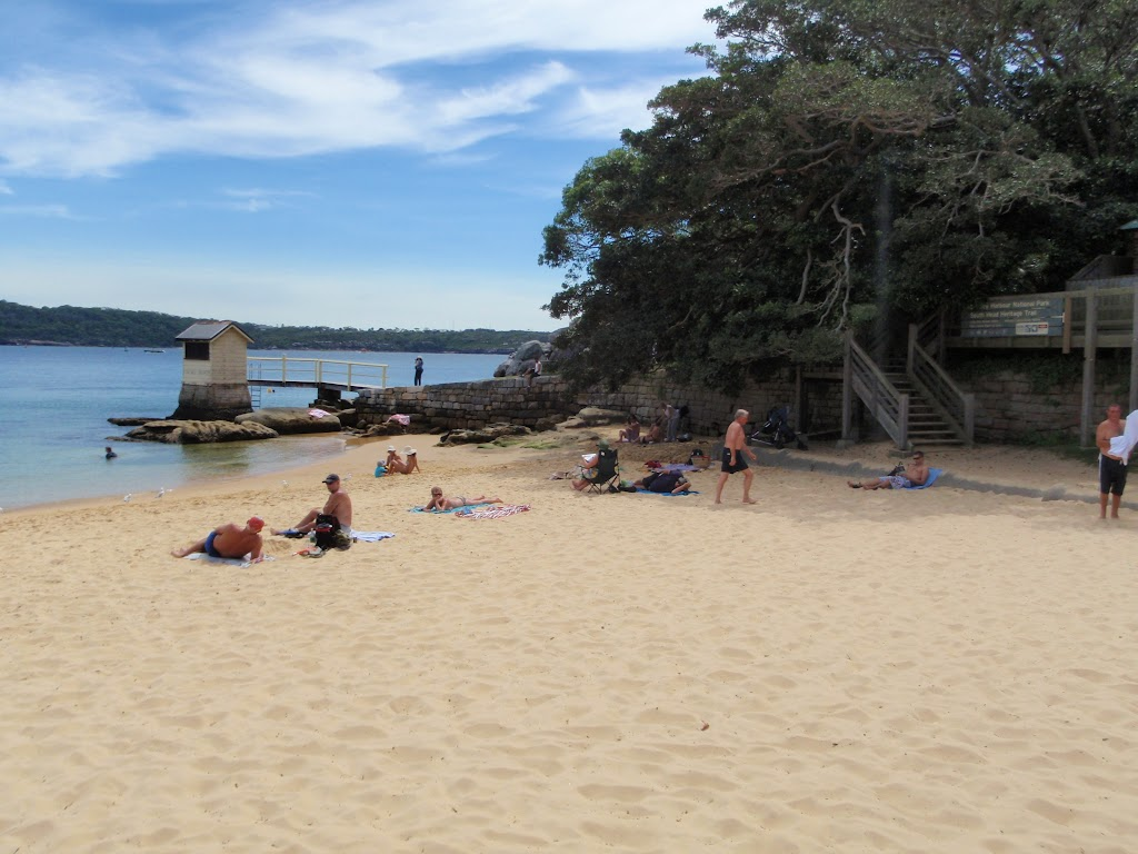 Northern end of Camp Cove Beach