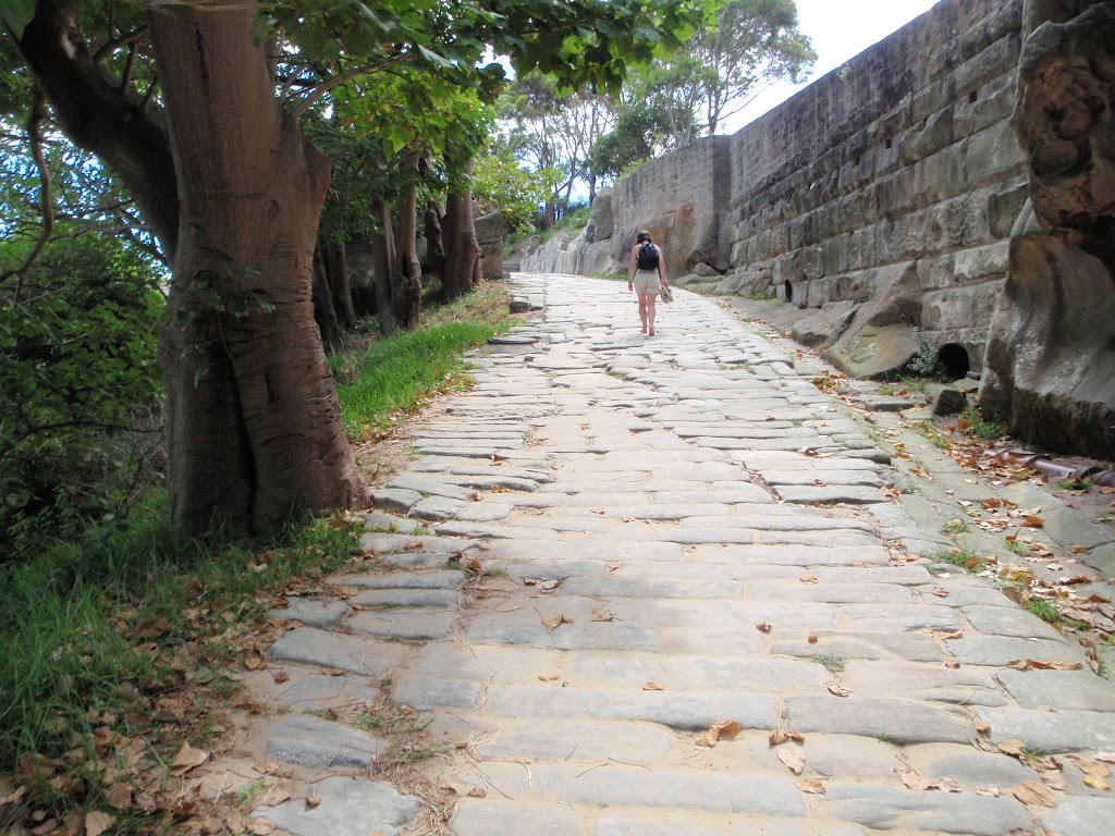 The old Cobblestone Road