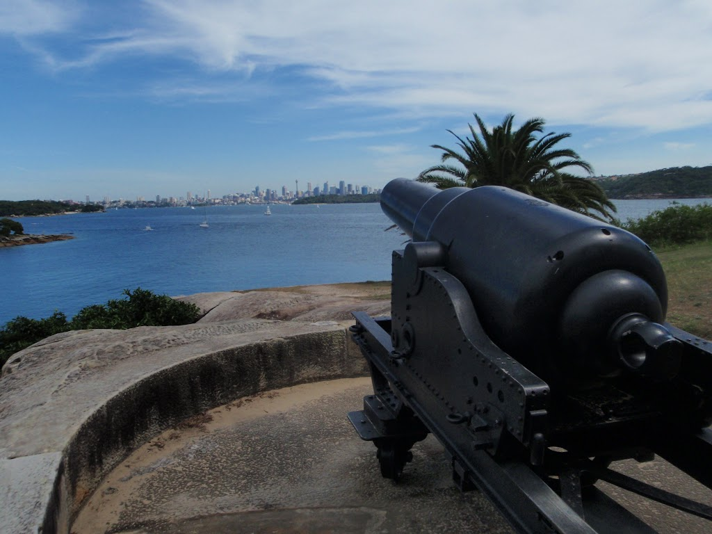 Gun aimed at the City