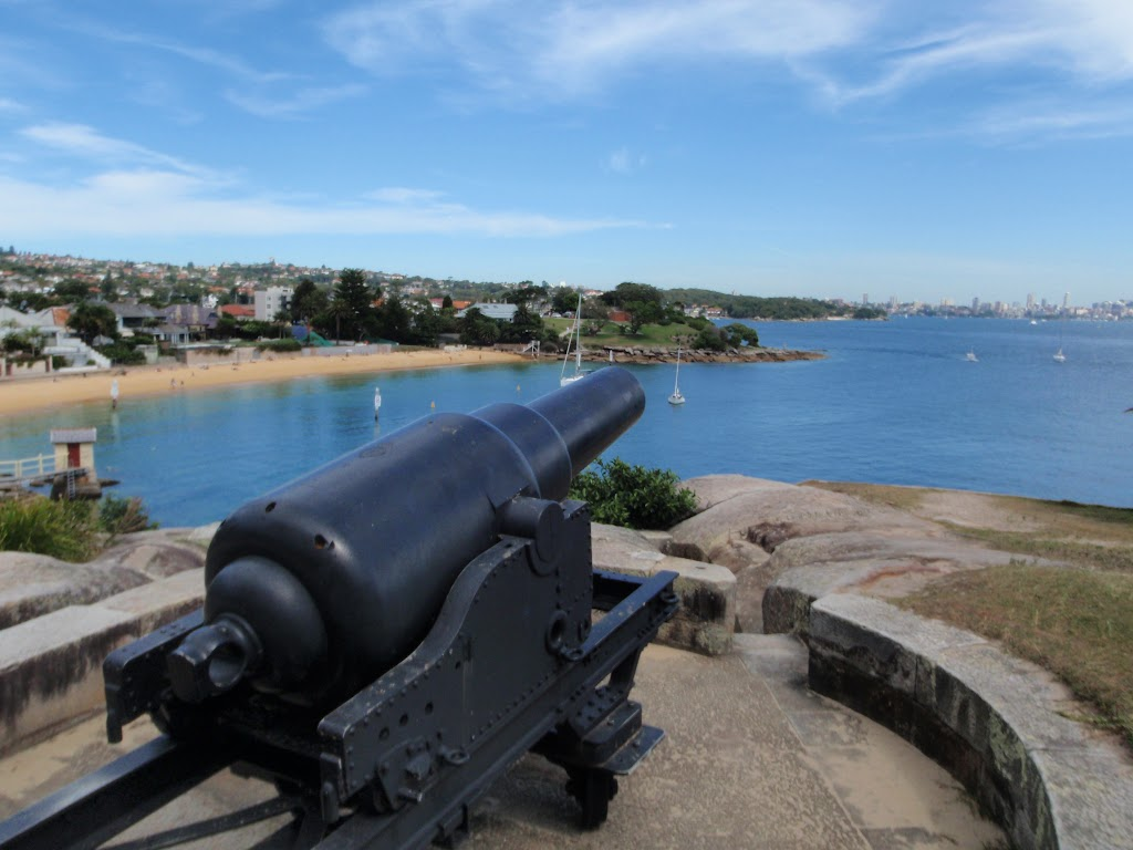Historic Gun near Camp Cove