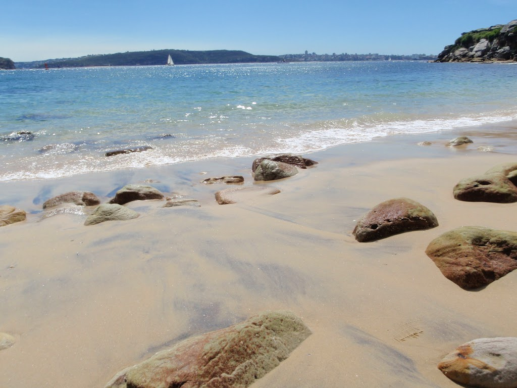 Looking to Middle Head from Lady Bay Beach