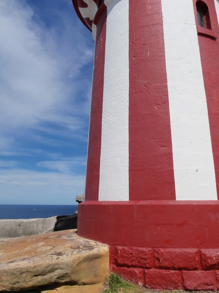 Distinct patern on Hornby Lighthouse (255731)