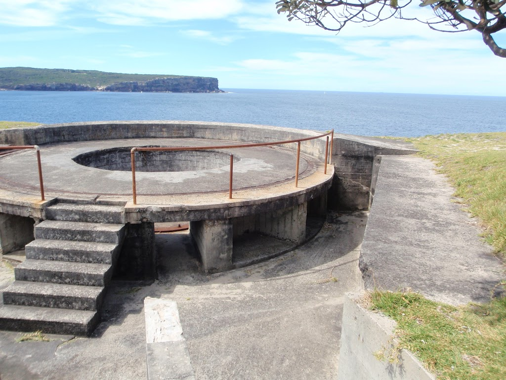 Gun Emplacement on the outside of South Head